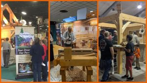 Photo from Denver Log and Timber Frame Show