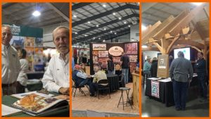 Photo from Chantilly Log and Timber Frame Show